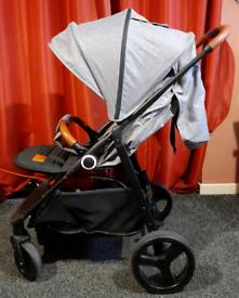 Kinderkraft grande stroller pushchair
