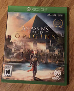 Xbox one game - assassins creed origins