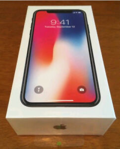 iPhone X 256 Gb Factory Unlocked