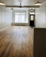 Retail space available in Downtown Wolfville