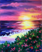 Enjoy a paint time event for epilepsy fundraising March 29