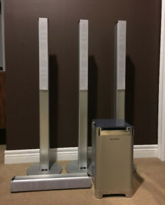 SONY Surround Sound Home Theater Cinema Speakers & Sub-woofe