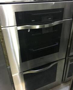 Viking stainless steel double wall oven PRICE $4500