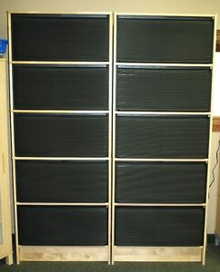 Shelving units, cabinets & bookcases