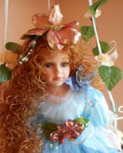 Large Lot of 7 Porcelain Dolls NIB