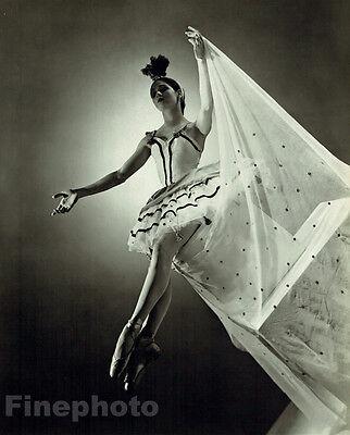 1937 BALLET CARAVAN Show Dance MARIE JEANNE 13x10 Photo Art GEORGE PLATT LYNES
