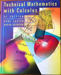 Technical Mathematics with Calculus - In Excellent Condition!