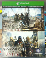 Assassin's Creed IV Black Flag + Assassin's Creed Unity Digital