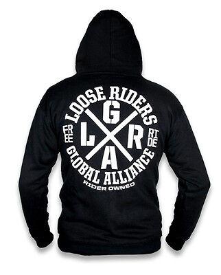 Loose Riders Herren ALLIANCE Kapuzenpullover.Tattoo,Biker,Rockabilly Style Ride Herren Pullover