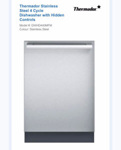 BRAND NEW THERMADOR DISHWASHER