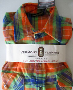 New Vermont Co. Flannel Shirt