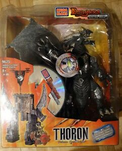 """Mega Blocks Dragons Metal Ages """"Thoron"""" with Electronic Sounds"""