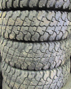 Cooper Discoverer S/T 30X10.50R15= 75-75% tread=4 tires $400