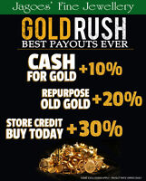 CASH FOR GOLD - SPECIAL PROMO!