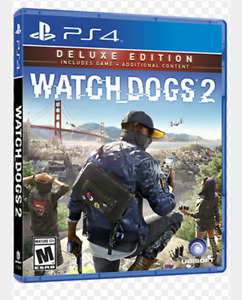 Selling watch dogs 2 deluxe edition, and fallout 4