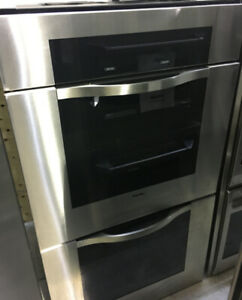 "Viking 30"" Stainless Steel double wall oven $3599 as tor"