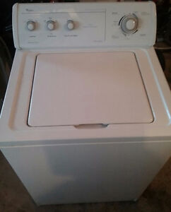 White Whirlpool top loading washer in great condition