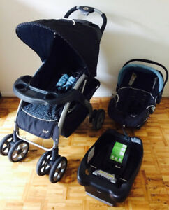GREAT Safety First Lux Travel system. Stroller+car seat+base.