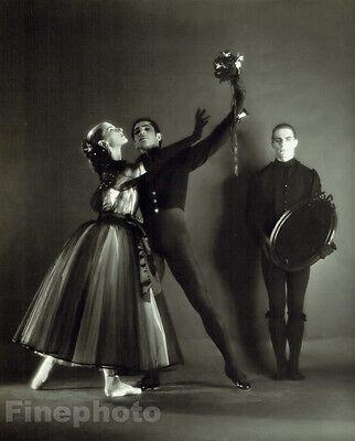 1951 NEW YORK CITY BALLET Dance LA VALSE Large 13x10 Photo By GEORGE PLATT LYNES