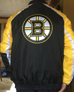 Winter coats.BOSTON BRUINS.