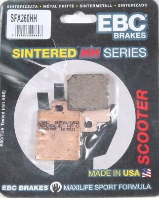 EBC SFA260HH SFA Sintered Scooter Brake Pads (Made In USA)