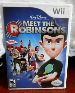 MEET THE ROBINSONS Wii GAME.