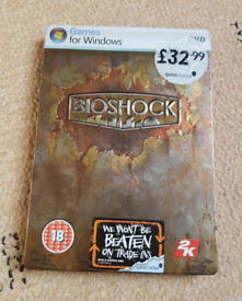 Bioshock Steelbook (PC) Boxed With Instructions.