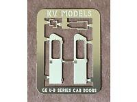 American Model Builders #394 Window Set Kit Fits Atlas GE B23 Clear Acrylic
