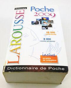 Livre, Dictionnaire Larousse, Dictionnaire de poche, 2009