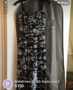 NEW WITH TAGS - BCBG DRESS SIZE 2