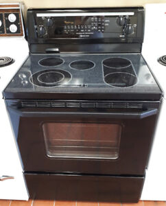 """Whirlpool Gold 30"""" Ceran Glass Top Electric Stove"""