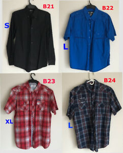 Long and Short Sleeved Shirts, Mainly New & some Used Items