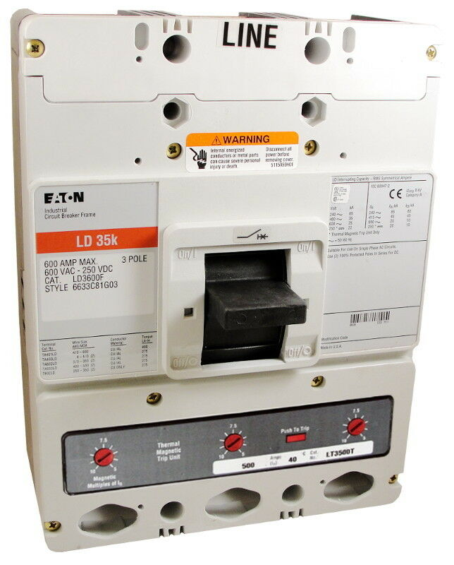 Eaton / Cutler-hammer Ld3600a13s02 - New Surplus