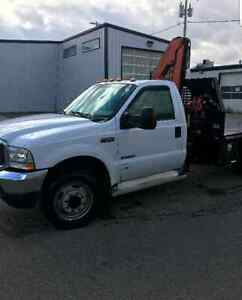 2003 FORD F550 PICKER