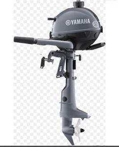 2.5 hp Yamaha outboard motor