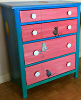 ONE-OF-A-KIND CHILDREN'S VINTAGE OAK DRESSERS, NEW PINE BENCHES!