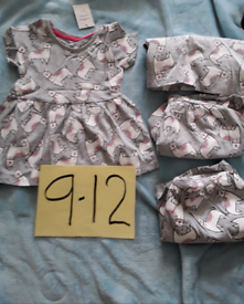 Girls dress 9/12 months