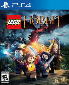 FACTORY SEALED COPY OF LEGO THE HOBBIT FOR PS4