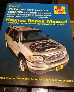Haynes Repair Manual Ford