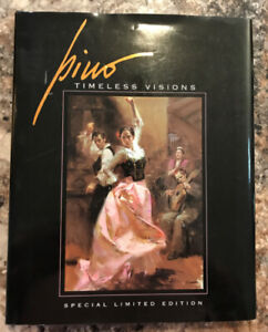 "Pino ""Timeless Visions"" LE Leather Book w""Frederique"" Giclee"