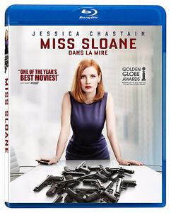 Miss Sloane Blu-ray (Bilingual)