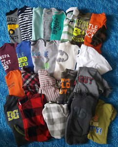 0-3 MONTHS BOYS CLOTHING LOT