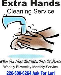 When You Need That Extra Pair Of Hands Home Cleaning Save$$$ Cambridge Kitchener Area image 1