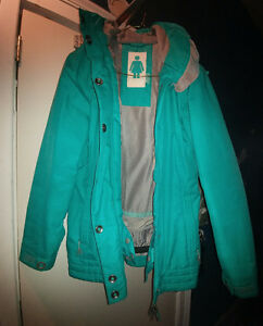 Teal and Grey Firefly Coat