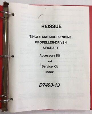 Cessna Single   Multi Engine Prop  Driven Aircraft Accessory Kit   Service Index