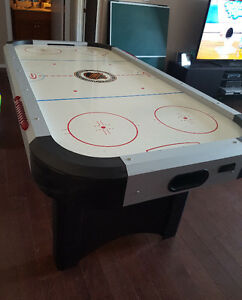 1 Air Hockey Table with Ping Pong Table Top