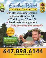 Driving Lessons - EarlyBird Driving School