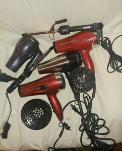 HAIR STYLING TOOLS CLEAR OUT