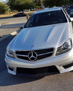 2013 Mercedes Benz C63 AMG with P31 Development Pkg