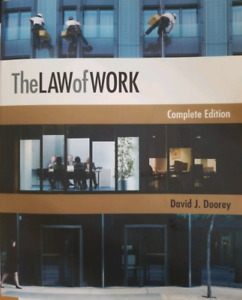 The Law of Work Textbook